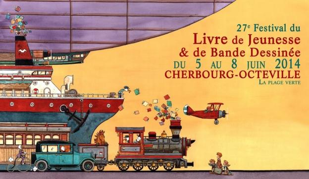 Cherbourg -littérature jeunesse et voyage