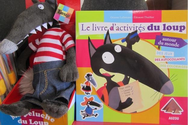 Livre d'activités du Loup - Lallemand / Thuillier