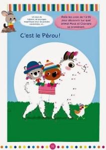 Mouk - livre d'activités - Pérou