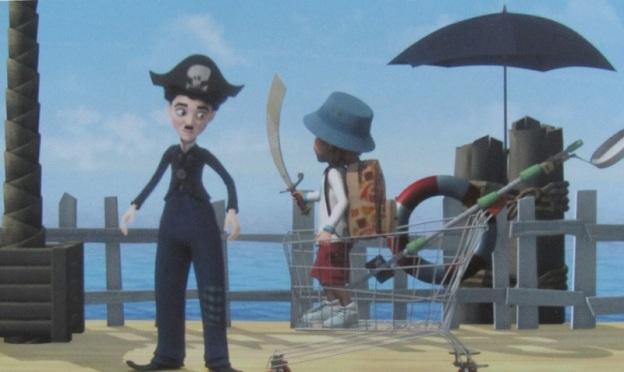 Littérature jeunesse et voyage : Chaplin and co